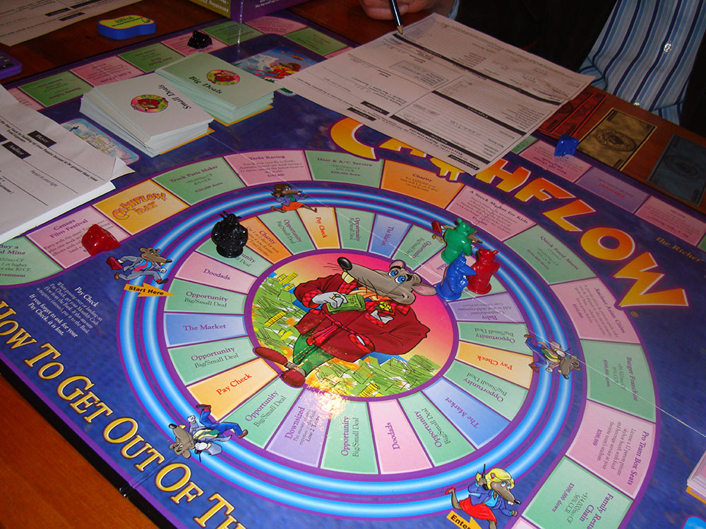 cashflow 101 the board game to make you rich online learning academy online learning academy. Black Bedroom Furniture Sets. Home Design Ideas